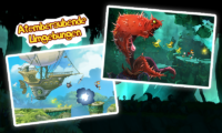 Rayman Jungle Run Screenshots - (c) Ubisoft
