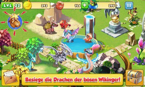 Dragon Mania Screenshot - (c) Gameloft