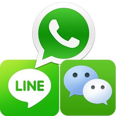 WhatsApp, WeChat, Line: Messenger App Vergleich Android, iOS