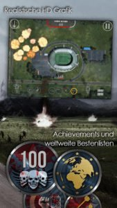 Zombie Blitz App Screenshot - (c) Headup Games