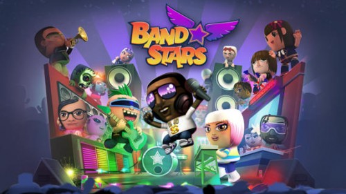 Band Stars Screenshot - (c) Halfbrick Studios