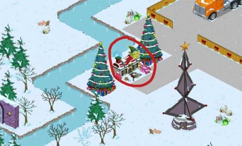 Das Elfenhaus in Simpsons Springfield (EA) - Alle 24 Stunden werden Geschenke gesammelt