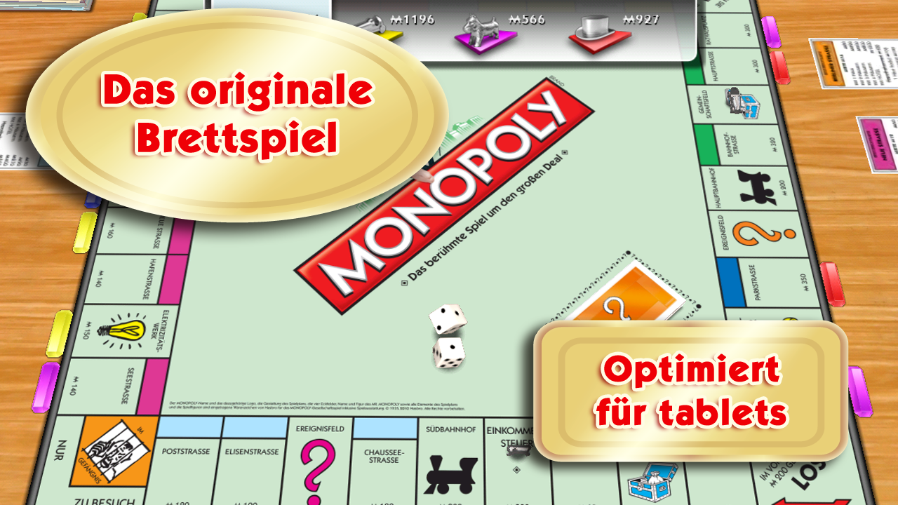 monopoly app f r android iphone und ipad das brettspiel touchportal. Black Bedroom Furniture Sets. Home Design Ideas