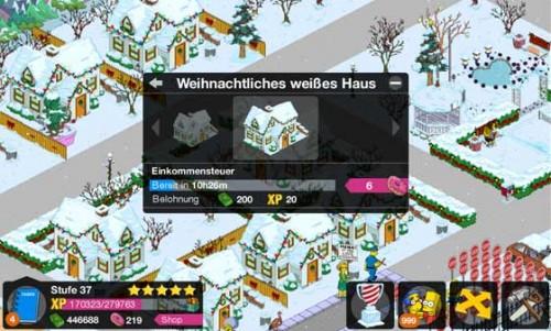 Simpsons Springfield Häuser dekorieren