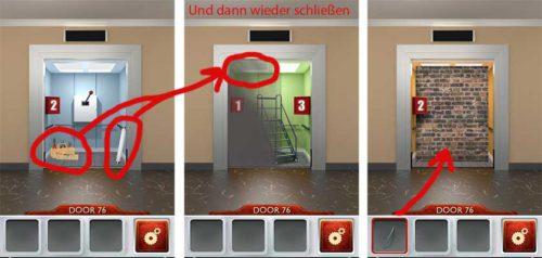 100 Doors 2 Level 76 Lösung