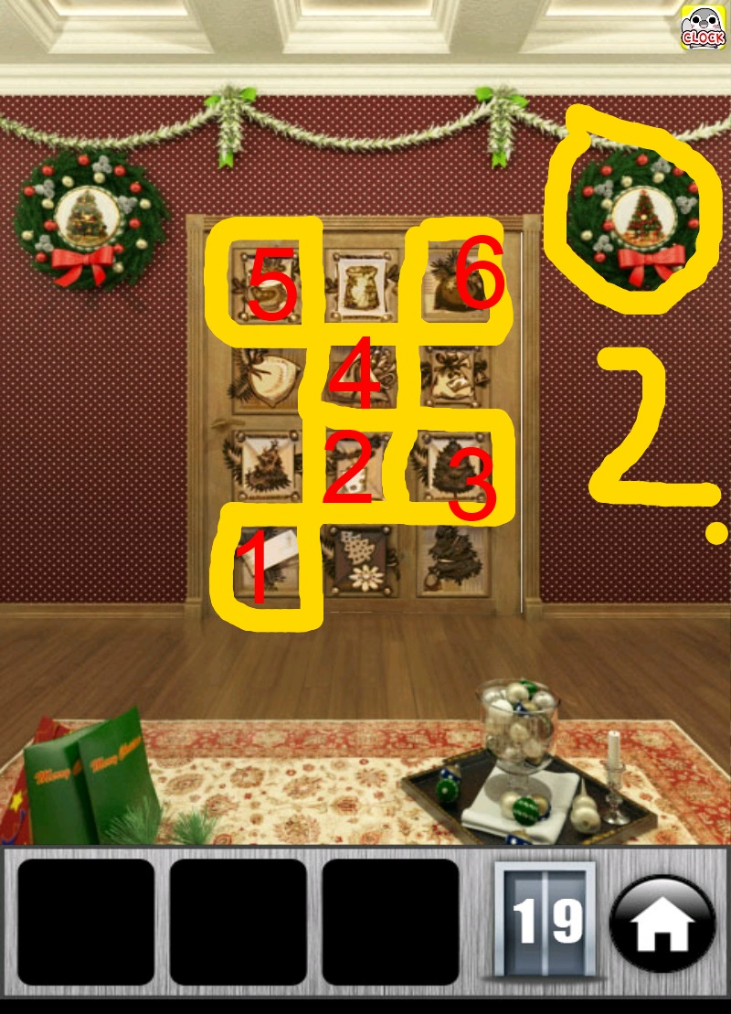 100 doors 2013 christmas level 11 bis 20 l sung touchportal for 100 doors 2 door 11