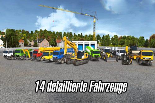 Bau-Simulator 2014 Fahrzeuge