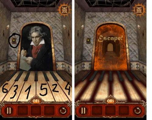 Escape Action Level 83 Lösung