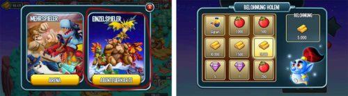 Monster Legends: Im Einzelspieler Modus kostenlose Edelsteine verdienen
