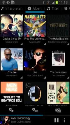 Rocket Music Player Screenshot (c) JRT Studio