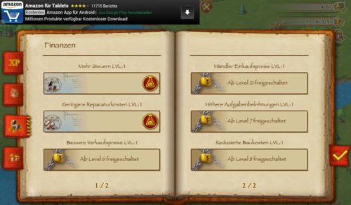 Townsmen Screenshot Forschung