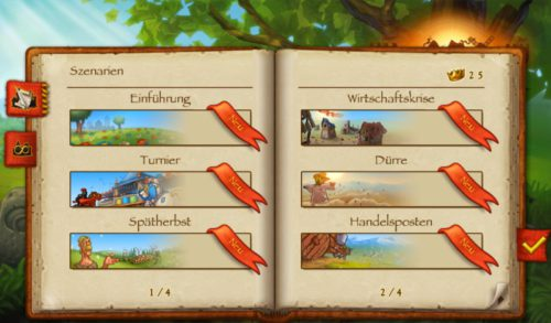 Townsmen Screenshot Szenarien