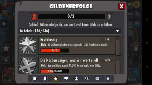 Gildenerfolge in Dungeon Keeper