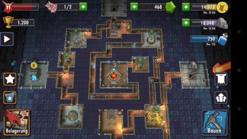 Dungeon Keeper Tipps zur Verteidigung - Unsere Stragie