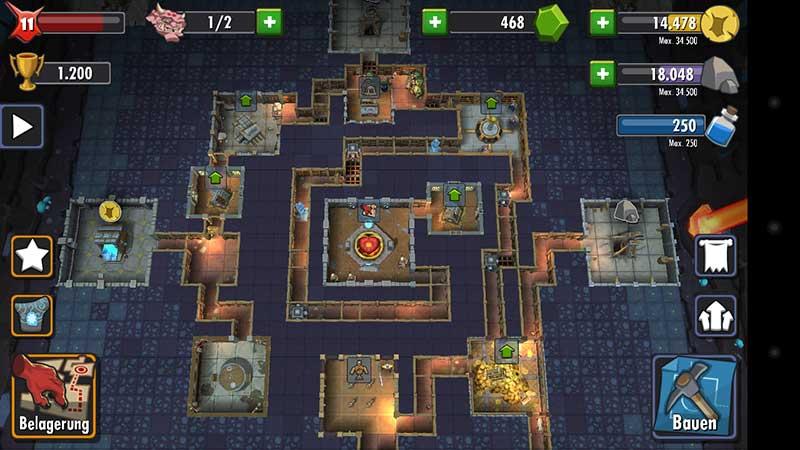 dungeon keeper app