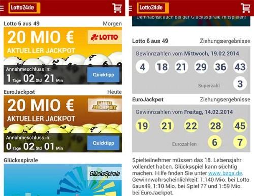 letzten lottozahlen eurojackpot