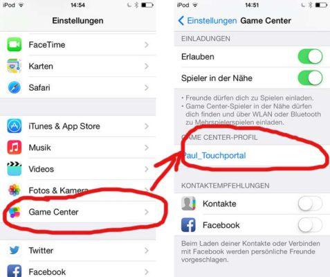 Tutorial: So kann man den Game Center Namen in iOS ändern