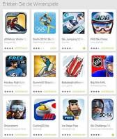 Wintersport Spiele bei Google Play für Android