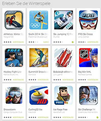 olympische winterspiele 2014 spiele apps f r android u ios touchportal. Black Bedroom Furniture Sets. Home Design Ideas