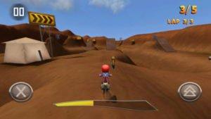 Fahre Rennen in FMX Riders gegen Computerspiele oder andere Spieler aus allter Welt - (c) The Quadsphere