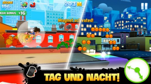 Spiele Skyline Skaters bei Tag und Nacht - (c) Tactile Entertainment