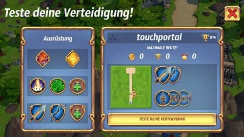 Testet eure Angriffstrategie in Royal Revolt 2