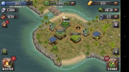 Battle Islands: Die eigene Insel