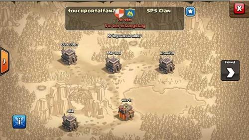 Am Vorbereitungstag der Clash of Clans Clankriege solltest du deinen Clanmitgliedern Truppen schicken