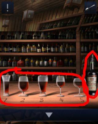 Doors&Rooms2 - Lösung Chapter 2 Level 14 bottle