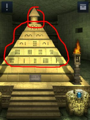 Doors&Rooms2 - Lösung Chapter 2 Level 19 pyramide