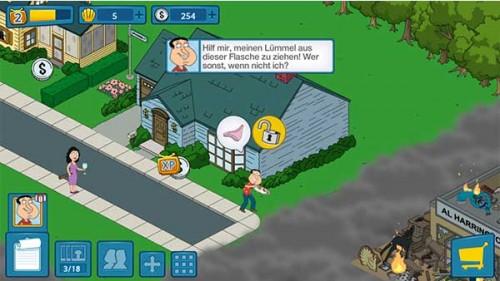 Bevor ihr in Family Guy Mission Sachensuche Figuren Aufträge geben könnt, müssen deren Aufgaben erfüllt sein