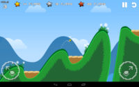 Golfy Bird und Flappy Golf Screenshot - (c) Noodlecake Studios