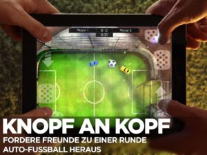 In Soccer Rally 2 gegen seine Freunde spielen - (c) IceFlame Ltd