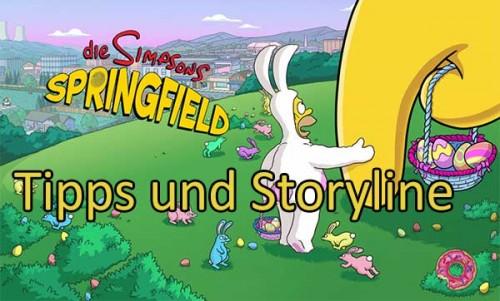 Simpsons Springfield Tipps zum Ostern 2014 Event
