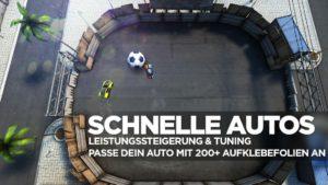 Soccer Rally 2 Autos und Fußball - (c) IceFlame Ltd