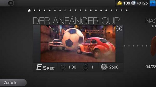 """Verdient zahlreiche Coins in Soccer Rally 2 durch das erste Turnier """"Der Anfänger Cup"""""""