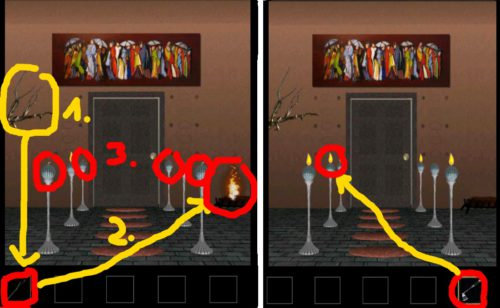 Doors 4 Komplettlösung Screenshot Level 25