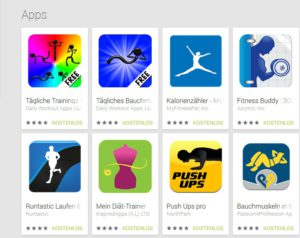 Fitness Apps Top 5 Apps