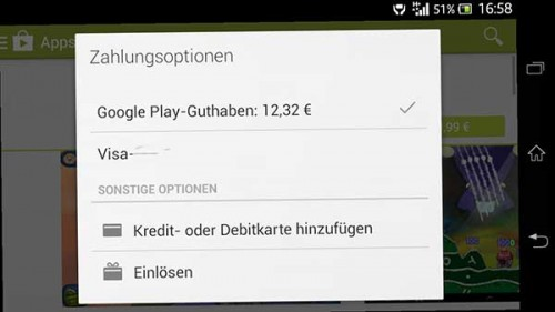 tutorial google play guthaben anzeigen lassen touchportal. Black Bedroom Furniture Sets. Home Design Ideas