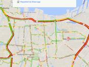 Mit der Google Maps App über Staus informiert sein