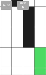 Tipp: Spielt White Tile in ruhiger Umgebung und voller Konzentration