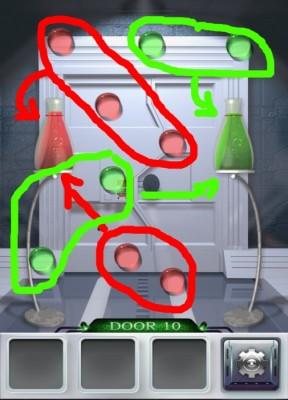 100 Doors 3 Komplettlösung - Screenshot Level 10