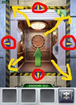 100 Doors 3 Komplettlösung - Screenshot Level 22