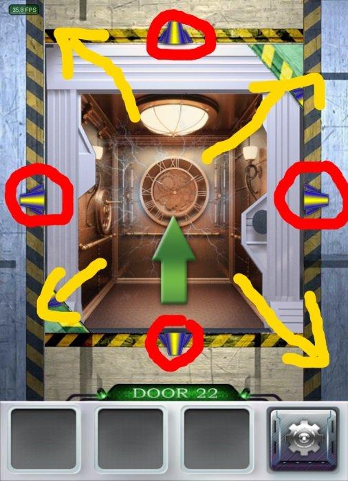 100 doors 3 l sung level 21 bis 30 touchportal for 100 doors door 22