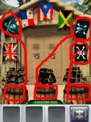 100 Doors 3 Komplettlösung - Screenshot Level 5