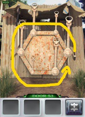 100 Doors 3 Komplettlösung - Screenshot Level 53