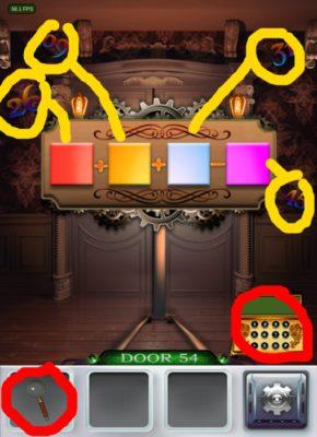 100 Doors 3 Komplettlösung - Screenshot Level 54