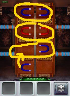 100 Doors 3 Komplettlösung - Screenshot Level 57