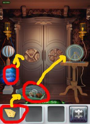 100 Doors 3 Komplettlösung - Screenshot Level 59