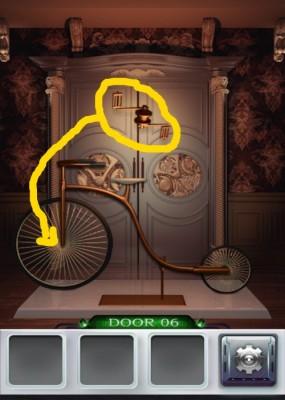 100 Doors 3 Komplettlösung - Screenshot Level 6